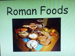 Roman food homework help