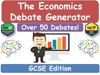 The Economics Debate Generator (GCSE)
