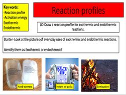 Reaction profiles