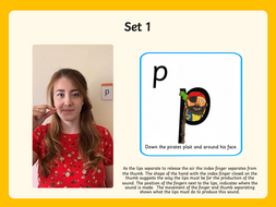 Phonics Phase 2&3 Cued Articulation gifs