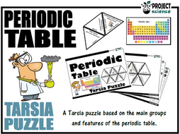 Periodic Table Tarsia Puzzle