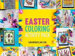Easter Coloring Activity Bundle