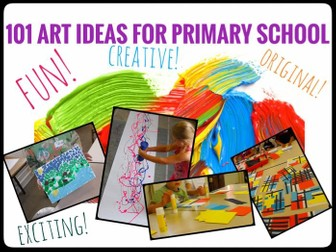 ART Lesson Ideas for Primary School.