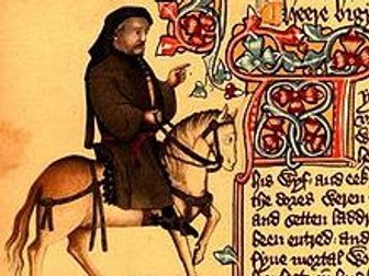 Chaucer Merchant's Tale - Marriage and January & May's Relationship Activities