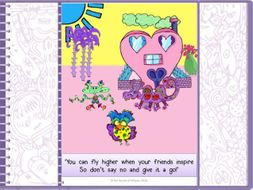 Assembly/ PSHE / Growth Mindset Poster from The World of Whyse's Book 1 Valentine Takes The Plunge.'