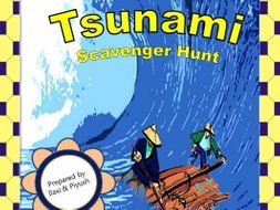 Tsunami Scavenger Hunt - An Activity