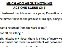 Much Ado About Nothing Quotes Much Ado About Nothing   Key Quotes by EllieG42   Teaching  Much Ado About Nothing Quotes