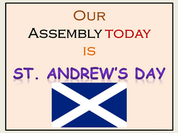 St. Andrew's Day: Assembly and Presentation Lesson, Worksheets, Word Search, Teacher's Notes