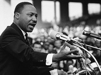 Martin Luther King - Assembly or Form Time Presentation