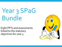 Year 3 SPAG bundle