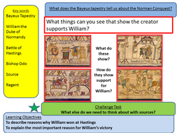 Norman Conquest: How do we know the Bayeux Tapestry supports William? (Lesson 4)