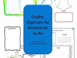 Graphic Organizers Plus Crossword Puzzles  for Windcatcher
