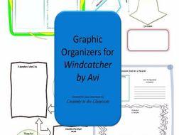Graphic Organizers Plus Crossword Puzzles  for Windcatcher