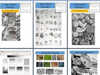 Home Study Booklet - GCSE Art & Design