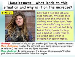 Homelessness - Being Homeless PSHE 2020