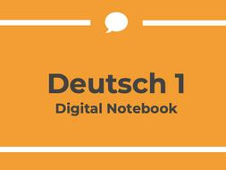 German 1 Digital Notebook