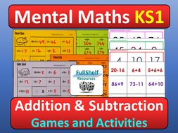 Mental Maths Activities KS1