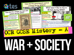 War and Society - OCR GCSE History A