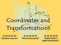 KS2:  Coordinates, Translations and Reflections Resource Pack
