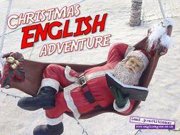 English Christmas Escape Room
