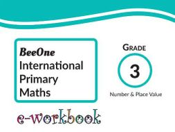 Grade 3 Number & Place Value Workbook of 55 worksheets from BeeOne ...