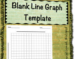 blank line graph template by myeducationalhotspot teaching