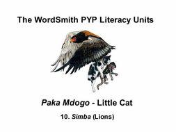 The WordSmith PYP Literacy Units (10)