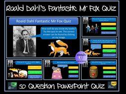 Fantastic Mr Fox Quiz - Roald Dahl