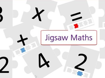Early learning. Addition, subtraction, multiply and simple division. Do it yourself Jigsaw maths.