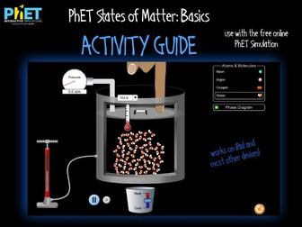 PhET States of Matter: Basics Activity Guide
