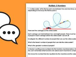 Year 4 Multiply 3 Numbers Spring Block 1 Maths Discussion Problems