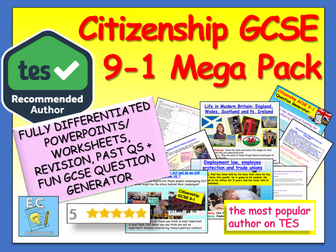 Citizenship GCSE 9-1