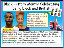 Black History Month UK