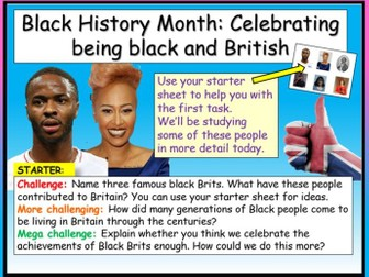 Black History Month UK