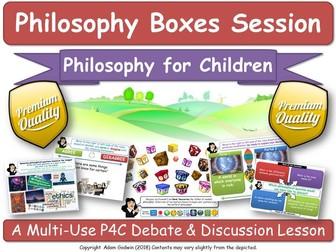 """KS1-3 Philosophy (P4C) """"Ethics & Morality"""" [Philosophy Boxes] (Critical Thinking, Tutor, PSHE, SMSC)"""