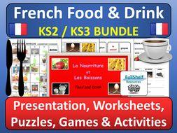French Food and Drink (La Nourriture et Les Boissons)