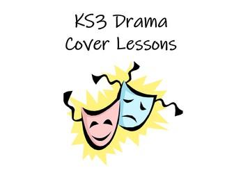 KS3 Drama Cover Lessons Booklet