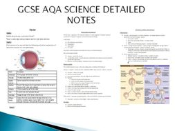 Biology Ecology GCSE AQA NEW SPEC