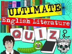 Back to School Literature Quiz