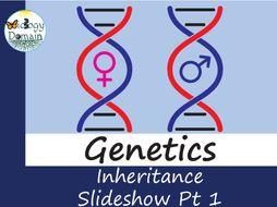 Genetics: Inheritance Part 1 Slide Show