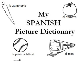 My Spanish Picture Dictionary