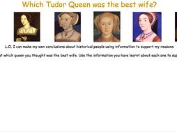 Tudor Queen Activity