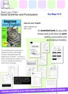 Using Apostrophes (Improve Your English Work Pack) 9-14 years