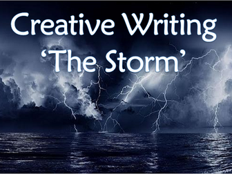 Creative Writing - The Storm