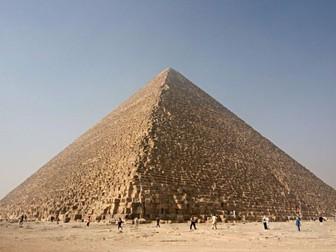 Pyramids #GoogleExpedition Volume (Maths)