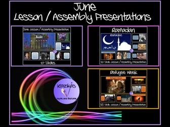 June Assemblies Bundle
