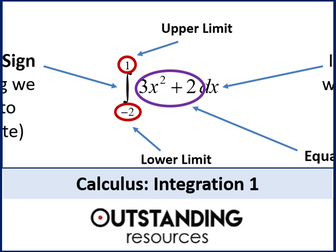 Integration 1 - An introduction and basics (+ worksheet + matching activity)