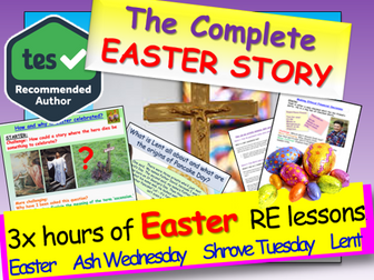 Easter: Easter Story, Jesus + Lead up to Easter