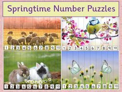 Number Puzzles - Spring