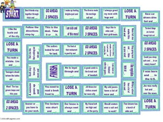 Word Pairs or Binomials Animated Board Game